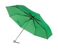 Зонт складной FOOTBALL, механический Цвет: Зеленый