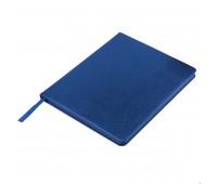Ежедневник недатированный Arti, B6+, синий металлик, кремовый блок, синий обрез Цвет: Синий