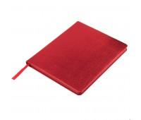 Ежедневник недатированный Arti, B6+, красный металлик, кремовый блок, красный обрез Цвет: Красный