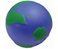 """Антистресс """"Земной шар"""" Цвет: зеленый, синий"""