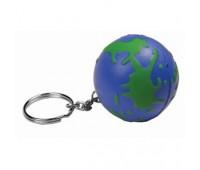 """Брелок-антистресс """"Земной шар"""" Цвет: зеленый, синий"""