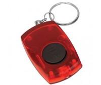 Брелок со светодиодом Цвет: Красный