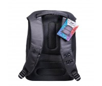 Спорт рюкзак Leardo с USB разъемом, серый/серый