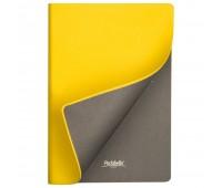 Подарочный набор Portobello/ Sky желто-серый (Ежедневник недат А5, Ручка, Power Bank)