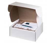 Подарочный набор Portobello аква-2 в малой универсальной подарочной коробке (Cпортбутылка, Термокружка, Ручка, Флешка)