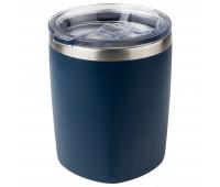 Термокружка вакуумная, Viva, 400 ml, т.-синяя