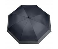 Зонт-трость Bora, синий/серый