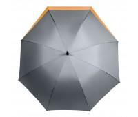 Зонт-трость Dune, серый/оранжевый