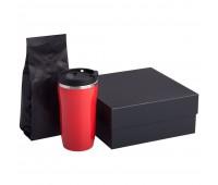 Набор Grain: термостакан и кофе, красный