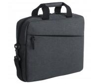 Конференц-сумка The First, темно-серая