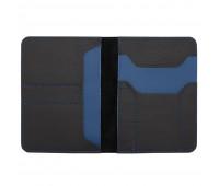 Автобумажник Hakuna Matata, черный с синий