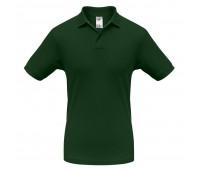 Рубашка поло Safran темно-зеленая