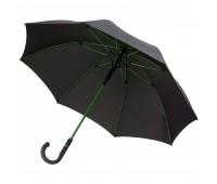 Зонт-трость с цветными спицами Color Style, зеленое яблоко