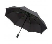Зонт складной AOC Mini с цветными спицами, зеленое яблоко