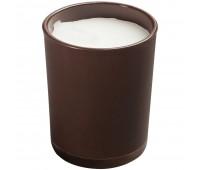 Свеча Glimmy, коричневая