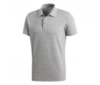 Рубашка поло Essentials Base, серый меланж