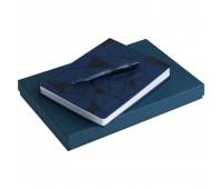 Набор Gems: ежедневник и ручка, синий