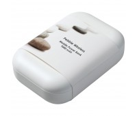 Аккумулятор с беспроводной зарядкой Pebble Wireless 9000 мАч, серый