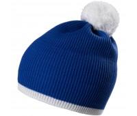 Шапка Amuse, синяя с белым