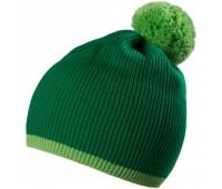 Шапка Amuse, зеленая с салатовым