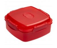 Ланчбокс Cube, красный
