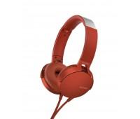 Наушники Sony XB-550, красные