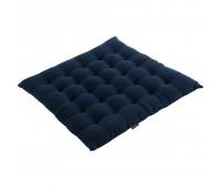 Подушка на стул Essential, темно-синяя