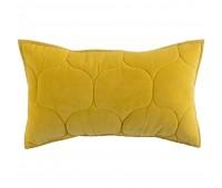 Чехол на подушку «Хвойное утро», прямоугольный, горчичный