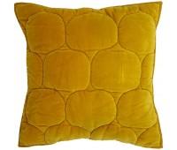 Чехол на подушку «Хвойное утро», квадратный, горчичный