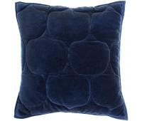 Чехол на подушку «Хвойное утро», квадратный, темно-синий