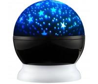 Проектор звездного неба Stardust, черный с белым