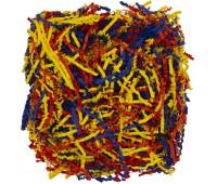 Бумажный наполнитель Chip Mix, синий, красный, желтый
