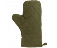 Прихватка-рукавица «Большой шеф», темно-зеленая