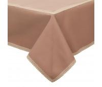 Скатерть «Какао», светло-коричневая