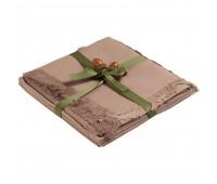 Набор «Осенний», дорожка сервировочная и салфетки, светло-коричневый