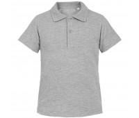 Рубашка поло детская Virma Kids, серый меланж