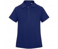 Рубашка поло детская Virma Kids, темно-синяя