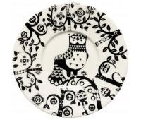 Блюдце Taika под кофейную чашку, черное