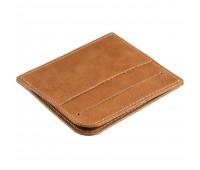 Чехол для карточек Apache, светло-коричневый (camel)