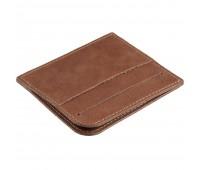 Чехол для карточек Apache, коричневый (какао)