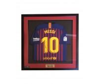 Футболка ФК «Барселона» с автографом Лионеля Месси