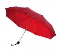 Зонт складной Fiber Alu Light, красный