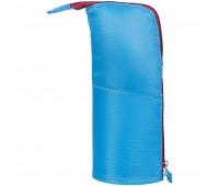 Пенал-подставка Standpoint, голубой с бордовым