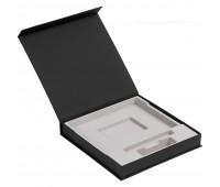 Коробка Memoria под ежедневник, аккумулятор и ручку, черная