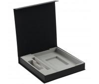 Коробка Arbor под ежедневник, аккумулятор и ручку, черная