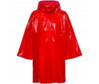 Дождевик-плащ CloudTime, красный
