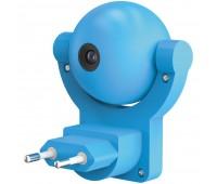 Проекционный светильник «Gauss Mood. Медвежонок», настенный, синий