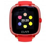 Умные часы Elari KidPhone Fresh, красные