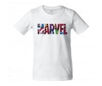 Футболка детская Marvel Avengers, белая