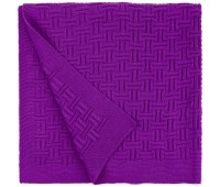 Плед Biscuit, фиолетовый